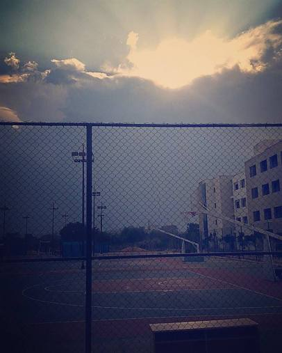 Basketball Courts & Hostel